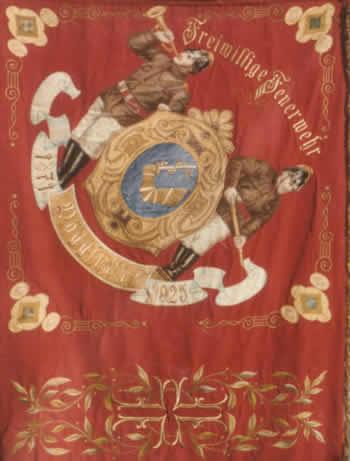 Fahne der FF Pöggstall